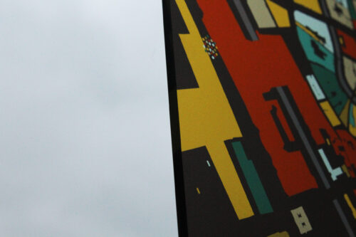 Plexiglas Kunst in Kaart