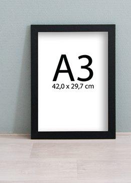 Wissellijst A3 Kunst in Kaart