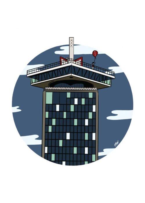 A'DAM Toren - Amsterdam - Poster
