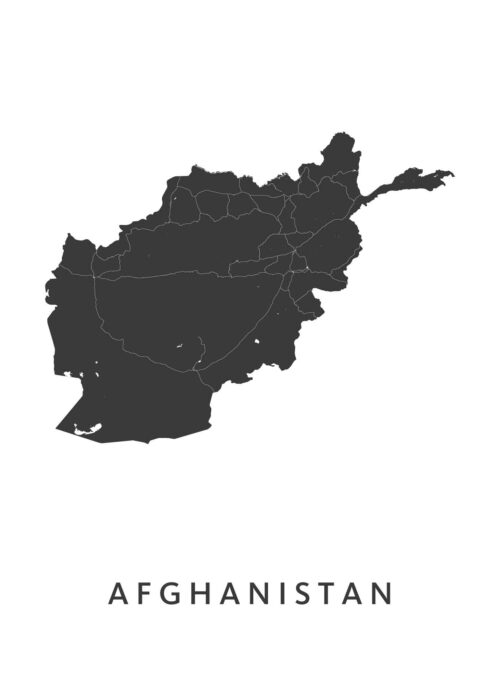 Afghanistan Country Map