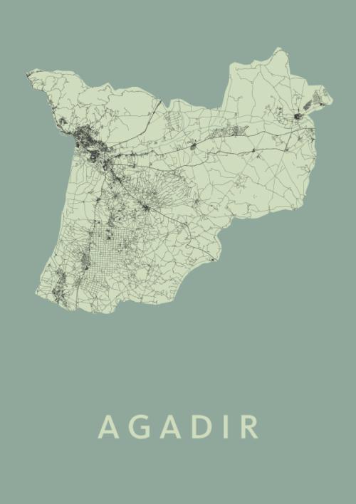 Agadir Olive City Map