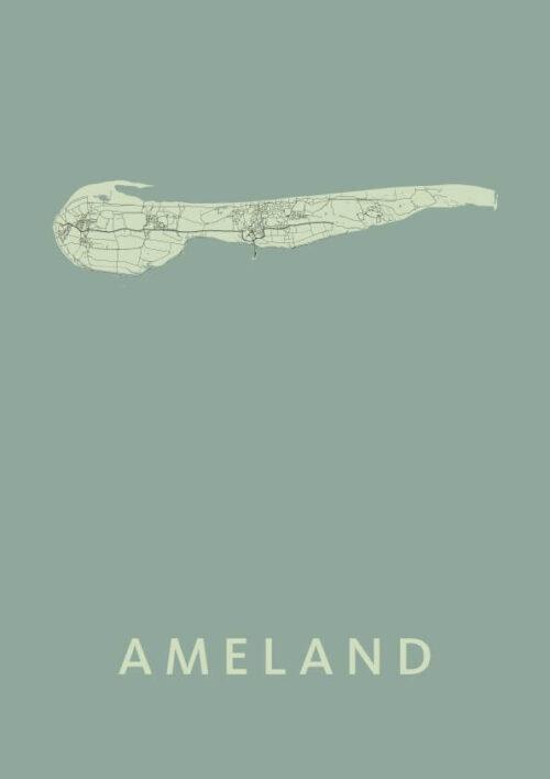 Ameland Olive Map