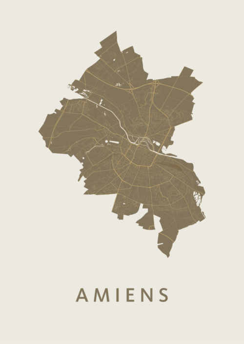 Amiens Gold City Map