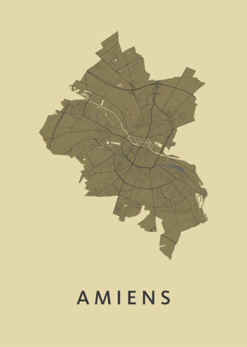Amiens GoldenRod City Map