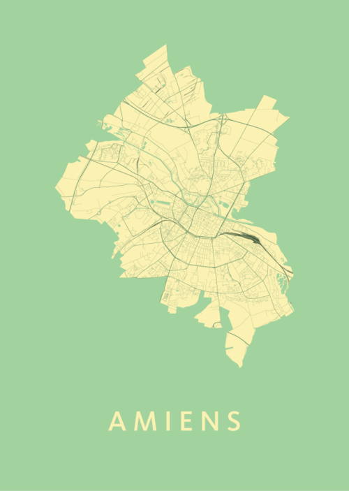 Amiens Spring City Map