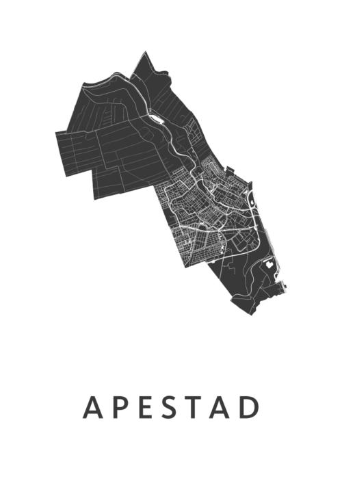 Apestad Carnaval Map