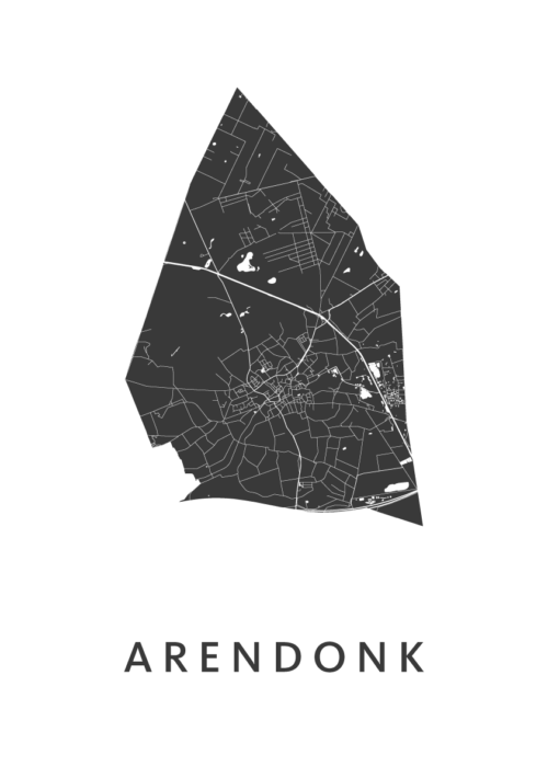 Arendonk White City Map