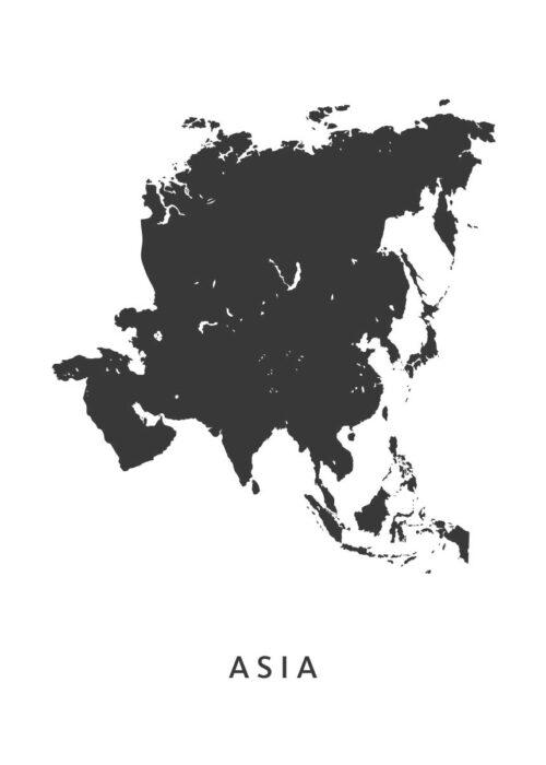 Asia kaart