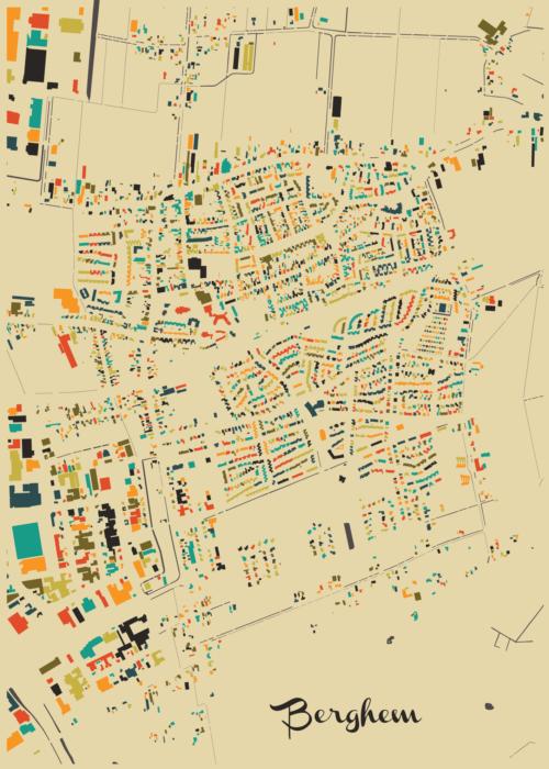 Berghem Autumn Mosaic Map