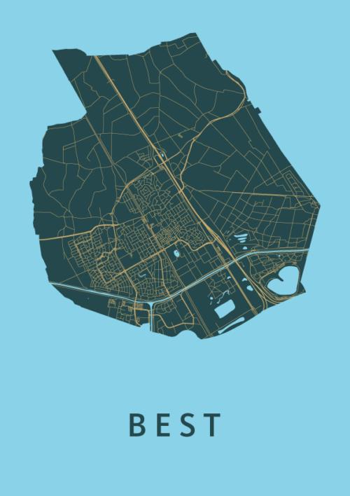 Best Azure City Map