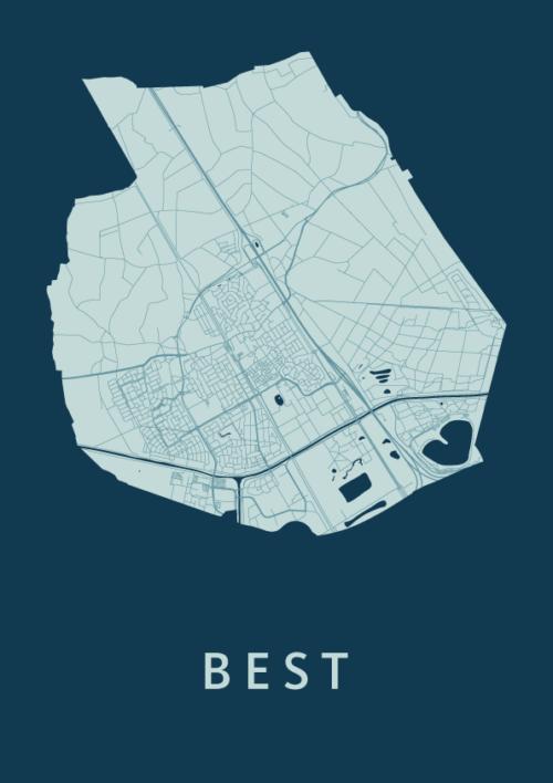 Best Feldgrau City Map