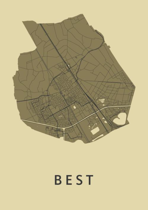 Best GoldenRod City Map