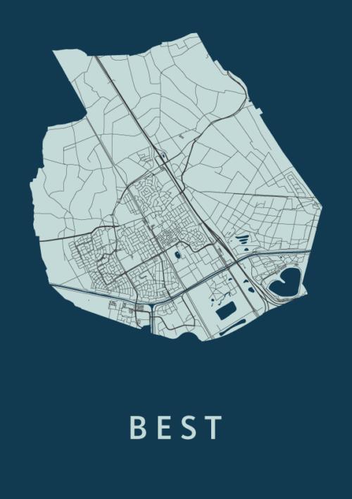 Best Navy City Map