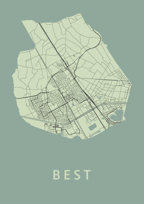 Best Olive City Map