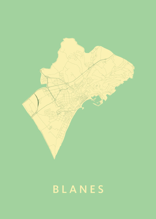 Blanes Spring City Map