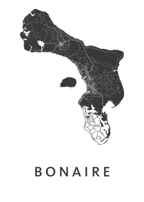 Bonaire Country Map