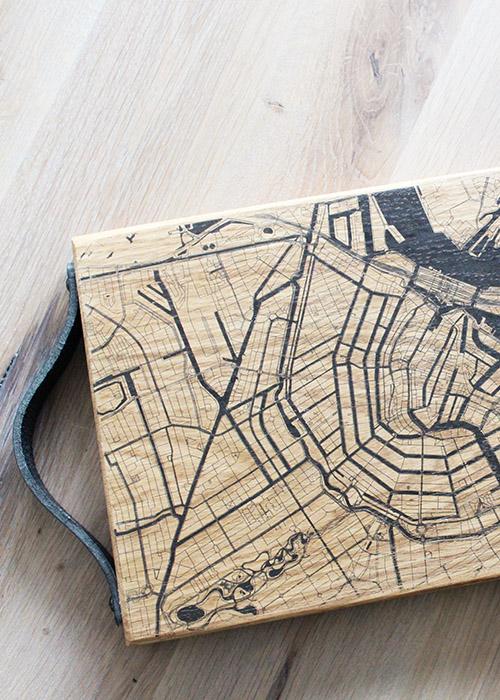 Borrelplank stadskaart
