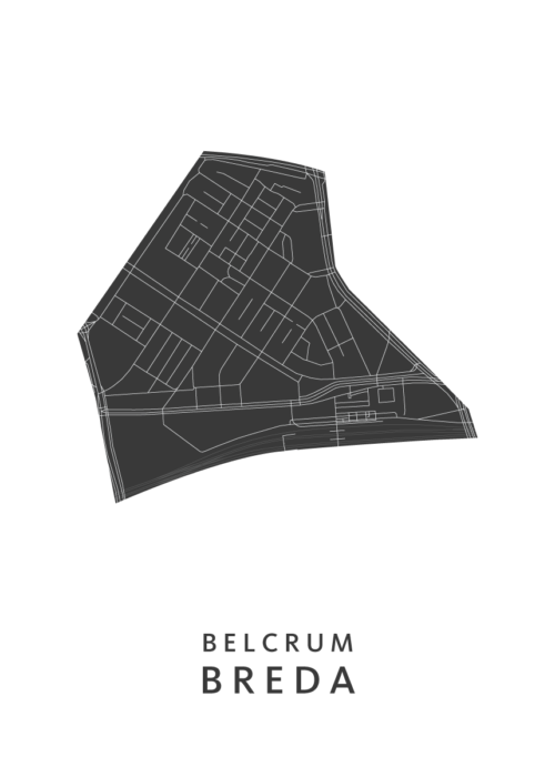 Breda - Belcrum White Wijk Map