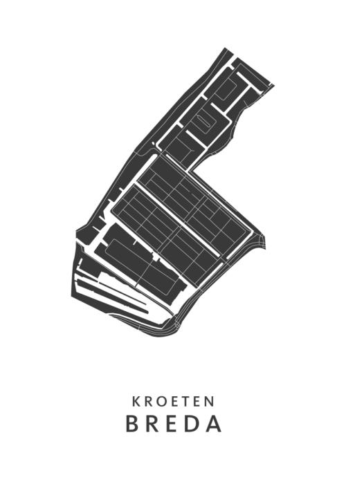 Breda - Kroeten White Wijk Map
