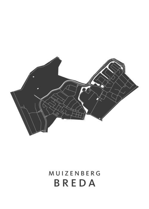 Breda - Muizenberg White Wijk Map