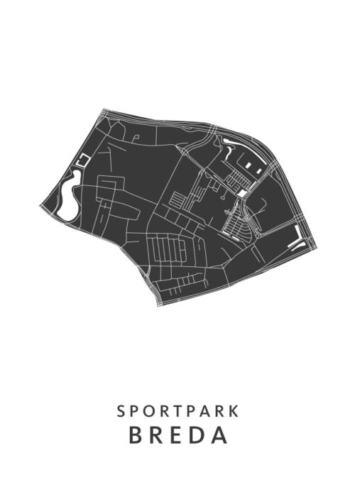 Breda - Sportpark White Wijk Map