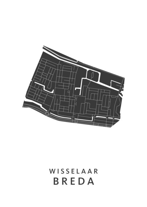 Breda - Wisselaar White Wijk Map