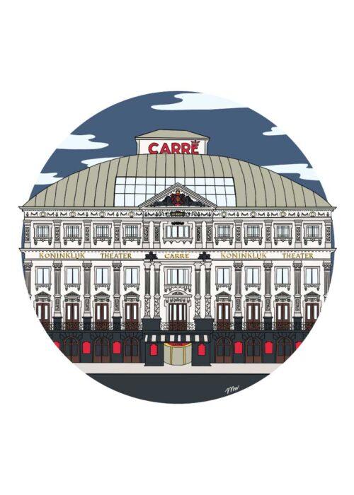 Carré - Poster