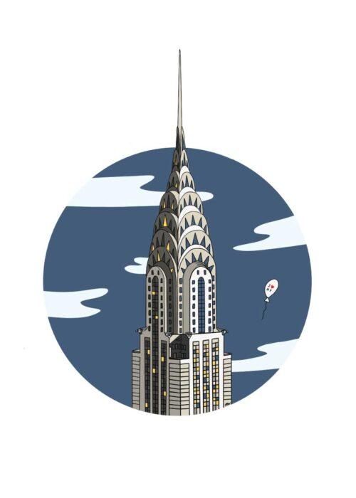 Chrysler Building - Poster