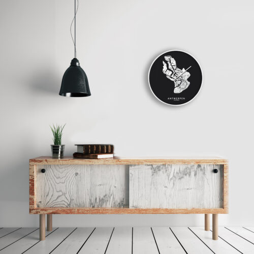 Wandklok - Cloudnola Kunst in Kaart