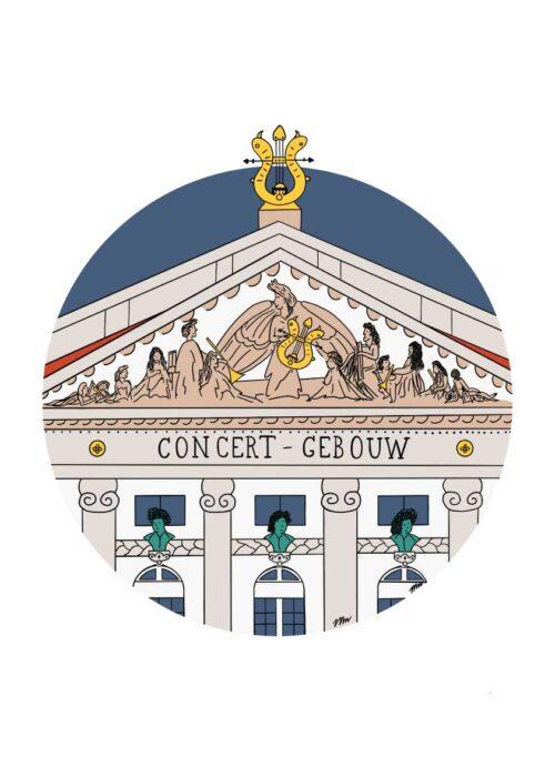 Concert Gebouw - Poster