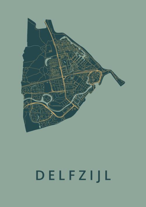 Delfzijl Amazon City Map
