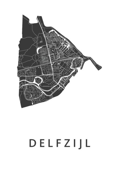Delfzijl White City Map
