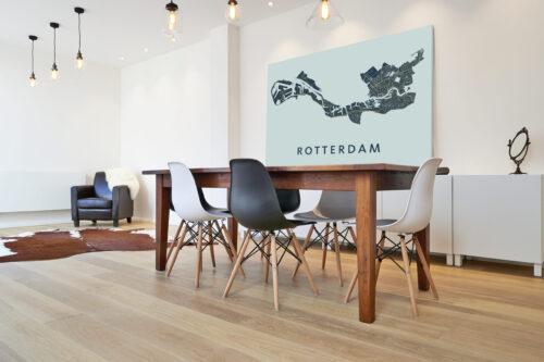 Dibond plaat Rotterdam