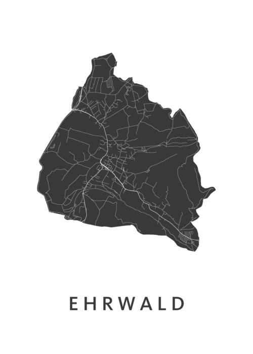 Ehrwald White City Map