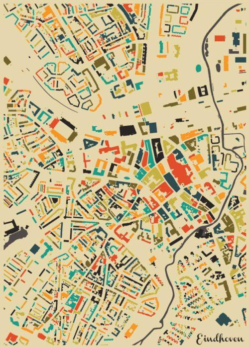 Eindhoven Autumn Mosaic Map