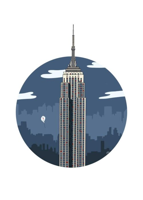 Empire State Building - New York - Poster