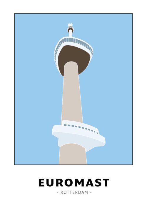 Euromast - Rotterdam - Poster