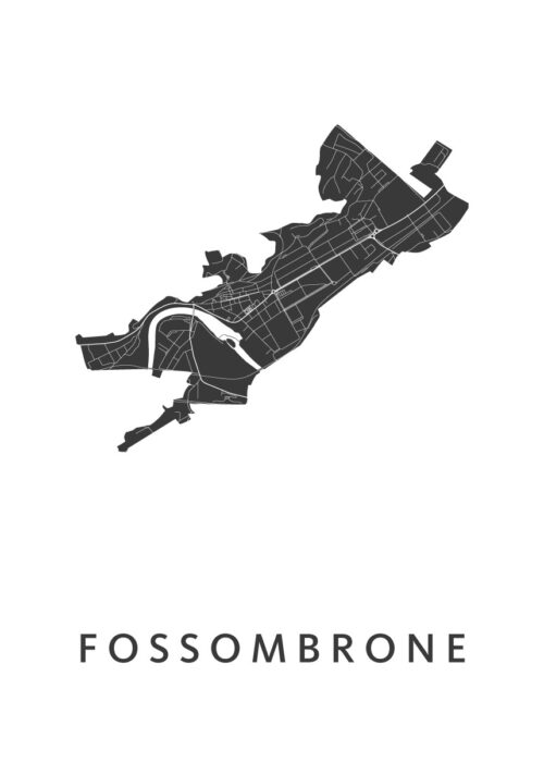 Fossombrone White City Map