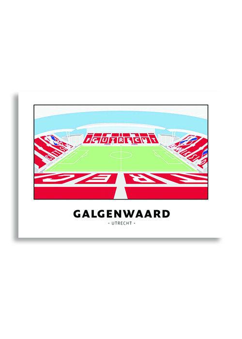 Galgenwaard - Utrecht - Poster