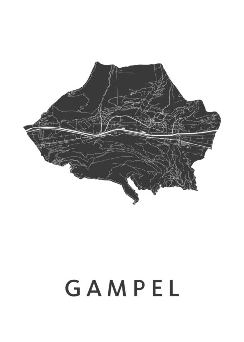 Gampel White City Map