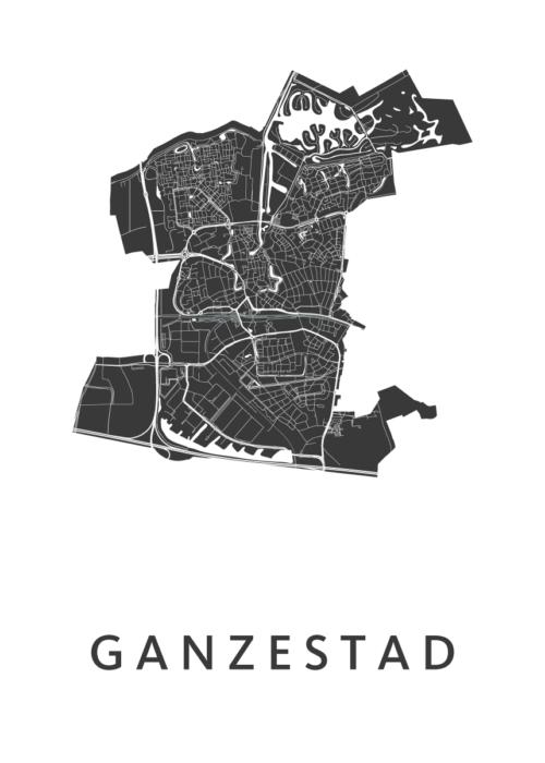 Ganzestad Carnaval Map