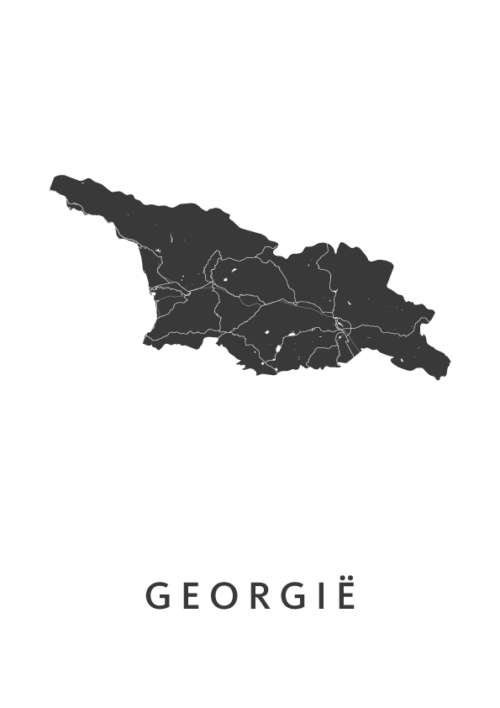 Georgië Country Map