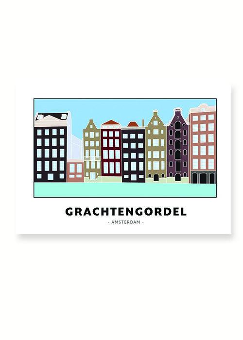 Grachtengordel - Amsterdam - Poster