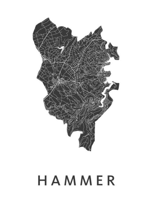 Hammer White City Map