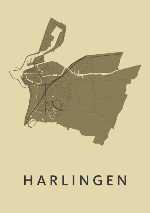 Harlingen GoldenRod City Map
