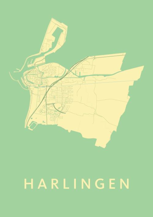 Harlingen Spring City Map