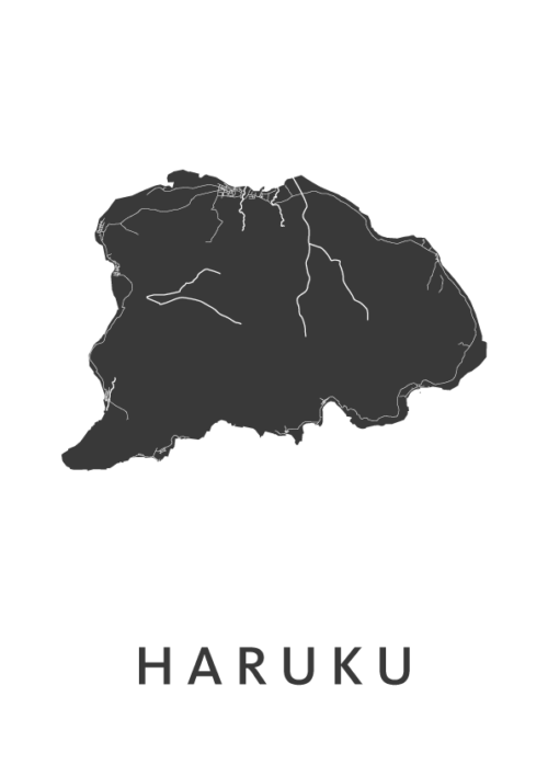 Haruku White Island Map