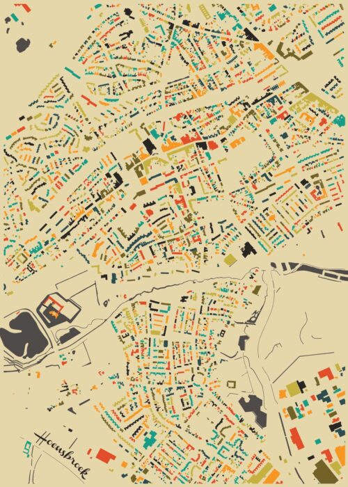 Hoensbroek Autumn Mosaic Map