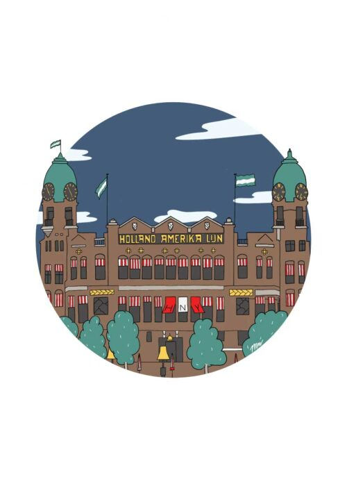 Hotel New York Rotterdam - Poster