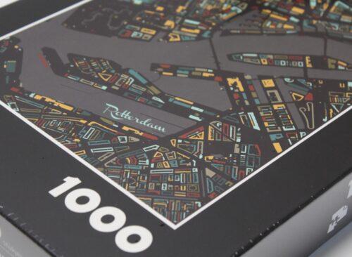 Stadskaart puzzel